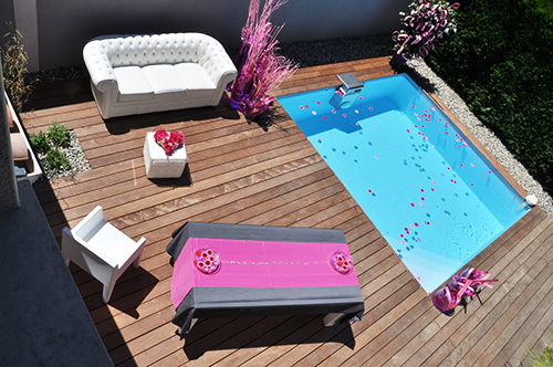 LAME DE TERRASSE TATAJUBA BRUT DECK 2 FACES  LISSES 140X20X715 ET 1015