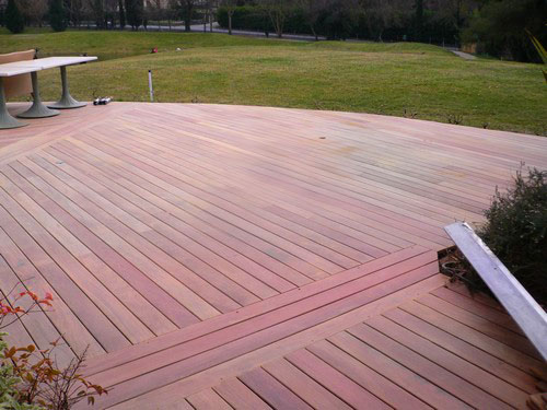 LAME DE TERRASSE IPE BRUT DECK CLIPSABLE 1 FACE LISSE 140X21X450 à 1550mm  - Parkett.fr