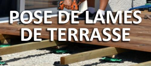 Savoir poser des lames de terrasses