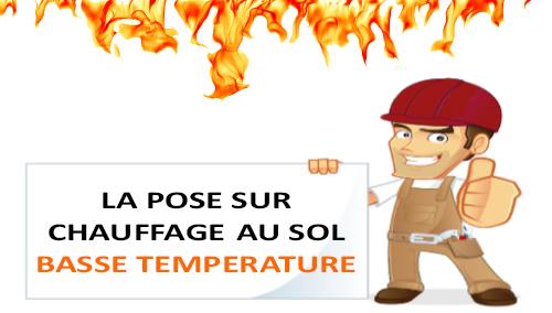 pose parquet Premibel chauffage au sol haute température