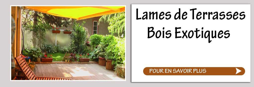 lame de terrasse bois exotique promo. Black Bedroom Furniture Sets. Home Design Ideas