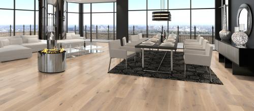 parquet flottant en ch ne monolame. Black Bedroom Furniture Sets. Home Design Ideas