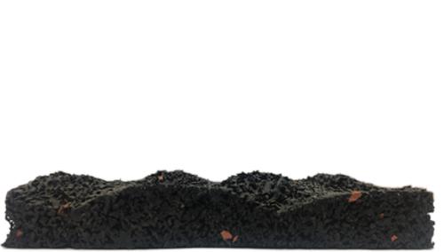 Sous-couches isolation phonique thermique Patin dinachoc s700 acoustique 100x50x17mm produit 100% recycle WPATI0003 Sous-couches isolation phonique thermique