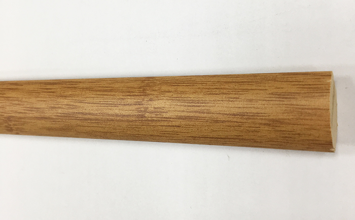 Quart de rond parquet - 1/4 de rond bambou foncé mdf