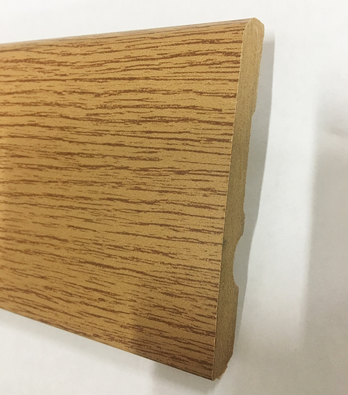 Plinthe de haute qualite - Plinthe mdf finition chêne miel 100x15 (0620)