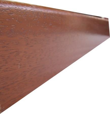 Plinthe de haute qualite - Plinthe mdf finition jatoba 8cm (0040)