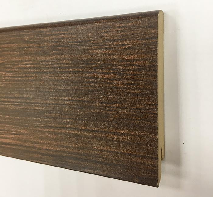 Plinthe de haute qualite - Plinthe mdf wengé 80x15 dinachoc p806