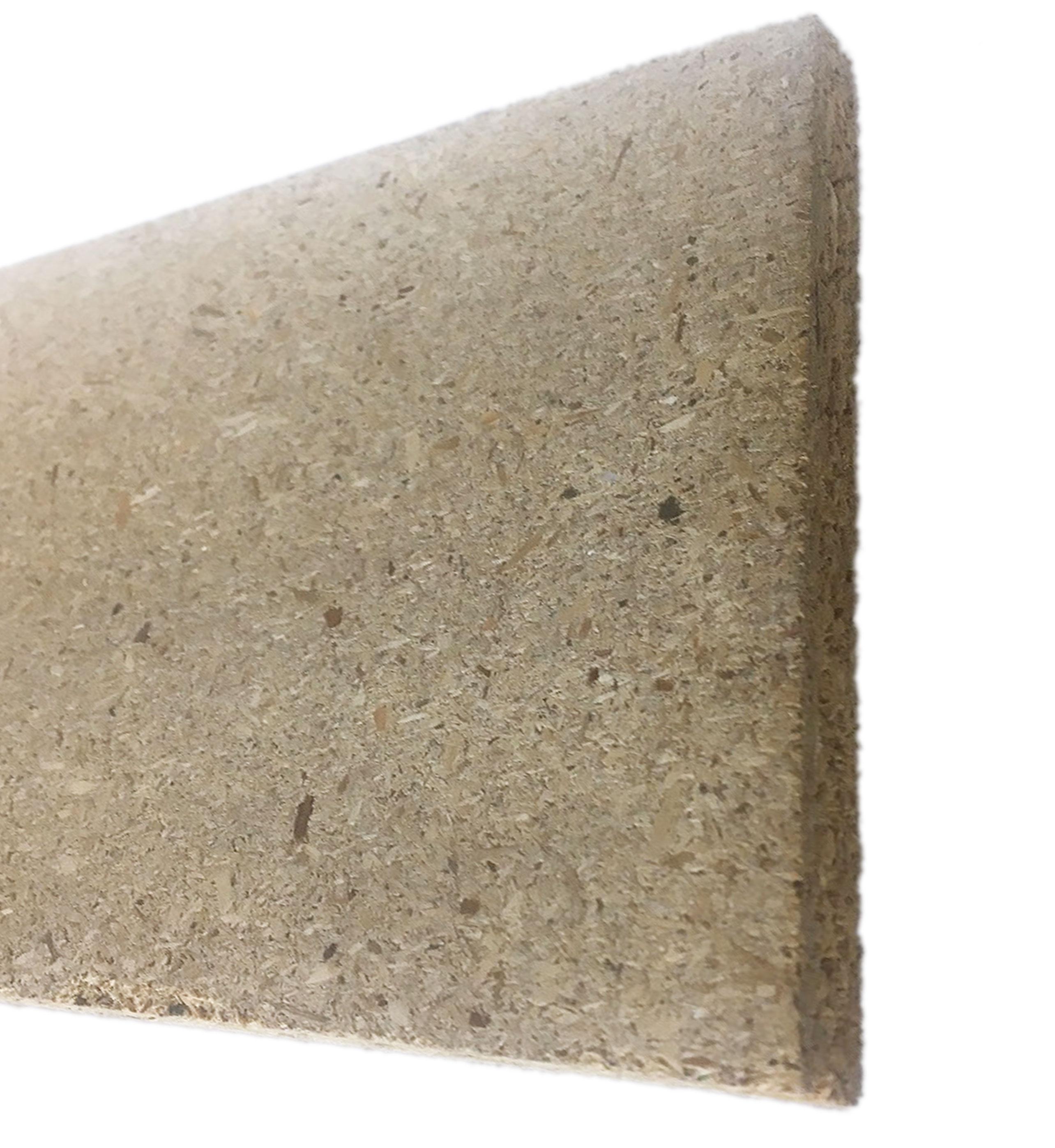 Plinthe de haute qualite - Plinthe agglomeree 145x1x2400 brut