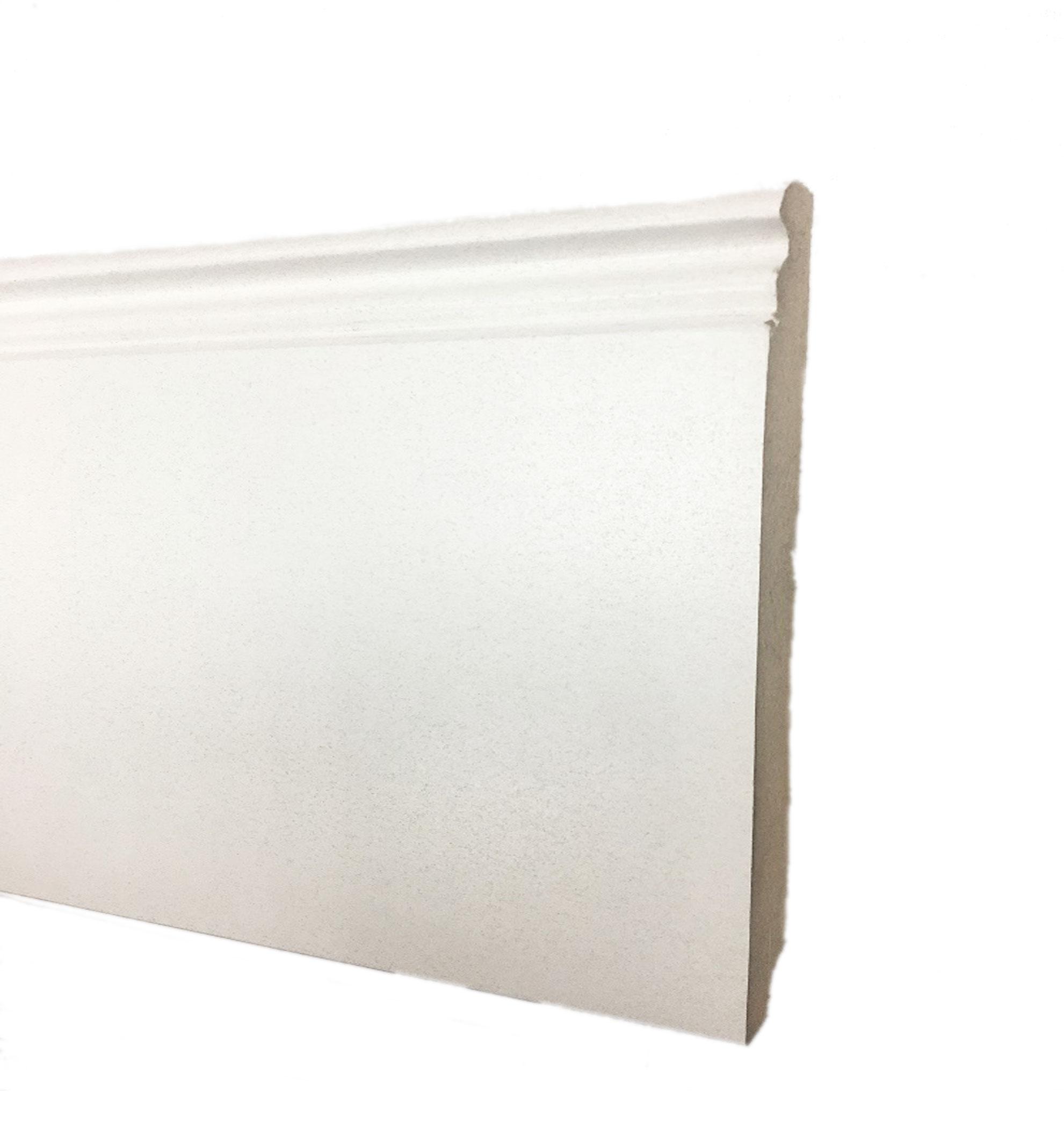 Plinthe de haute qualite - Plinthe mdf 100x19x2500mm moulure blanche