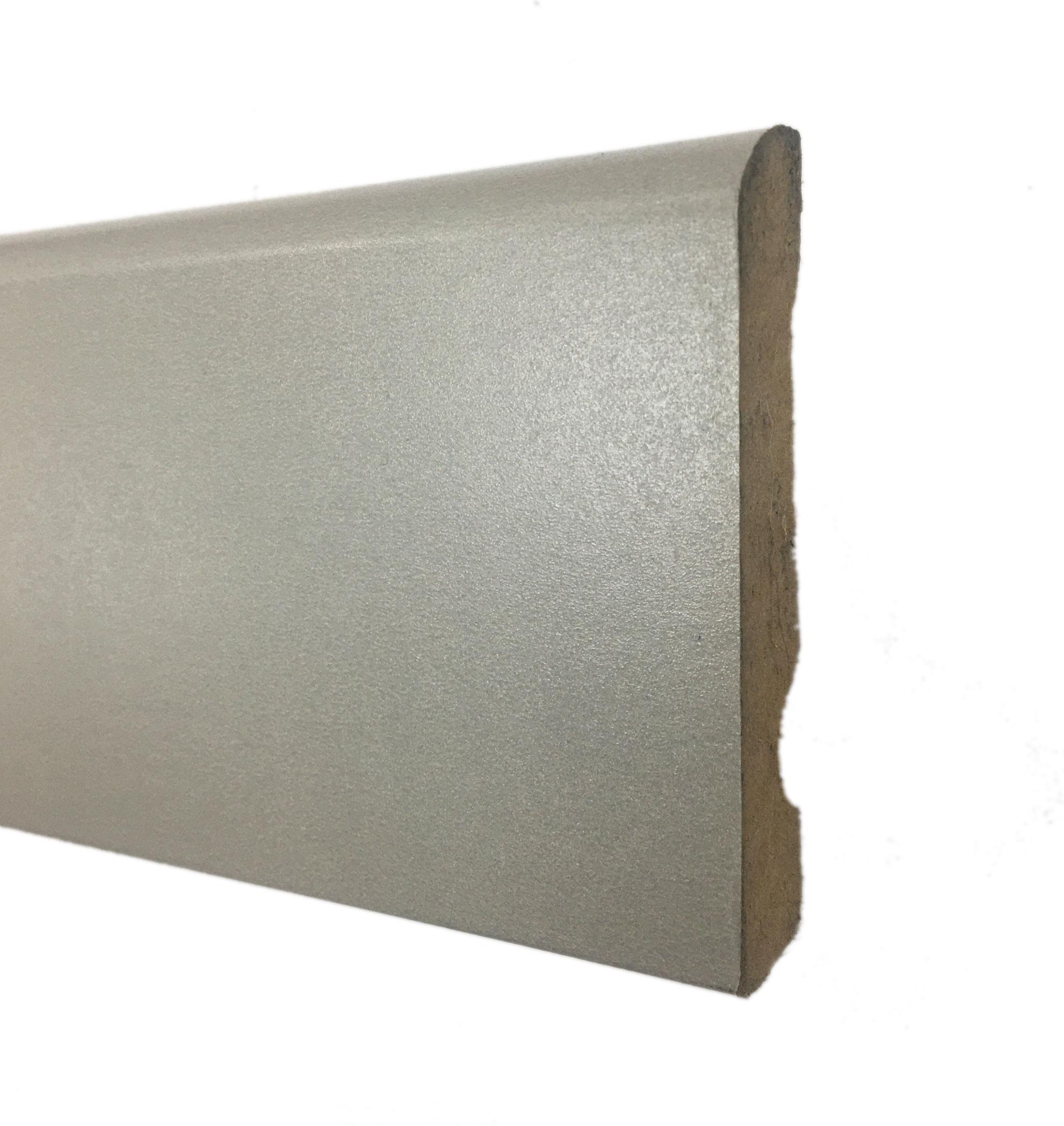 Plinthe de haute qualite - Plinthe mdf grise 70x12 - 0964