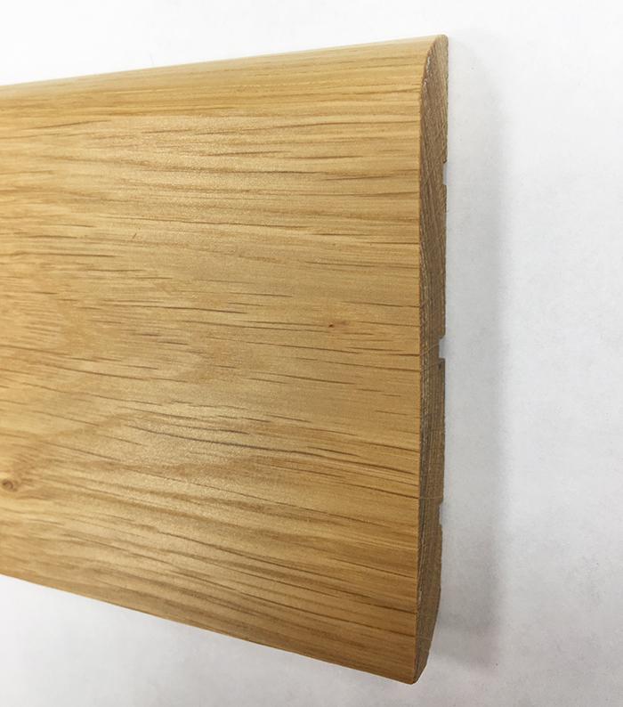 Plinthe de haute qualite - Plinthe chêne massif verni 100x14mm