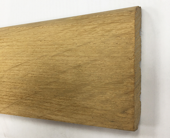 Plinthe de haute qualite - Plinthe chêne massif brut 70x14mm