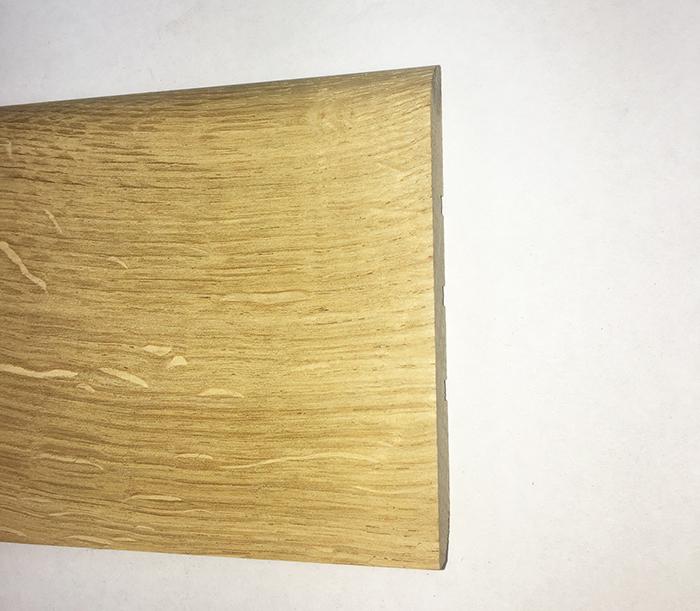 Plinthe de haute qualite - Plinthe chêne massif brut 100 x14mm