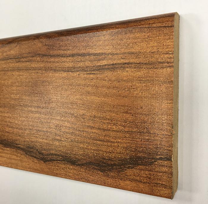 Plinthe de haute qualite - Plinthe mdf finition merbau 100x15 (0610)