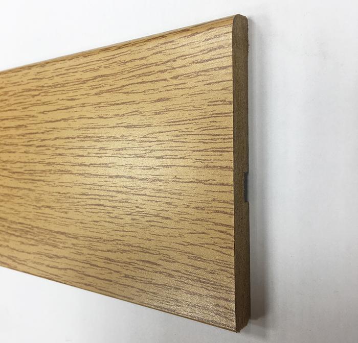Plinthe de haute qualite - Plinthe mdf finition chene 100x10 (0620)