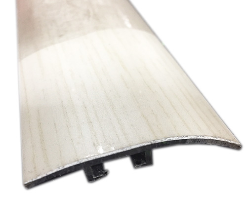Barres de seuil allu recouvert - BARRE DE SEUIL hêtre BLANC JONCTION (3279) 1.66m
