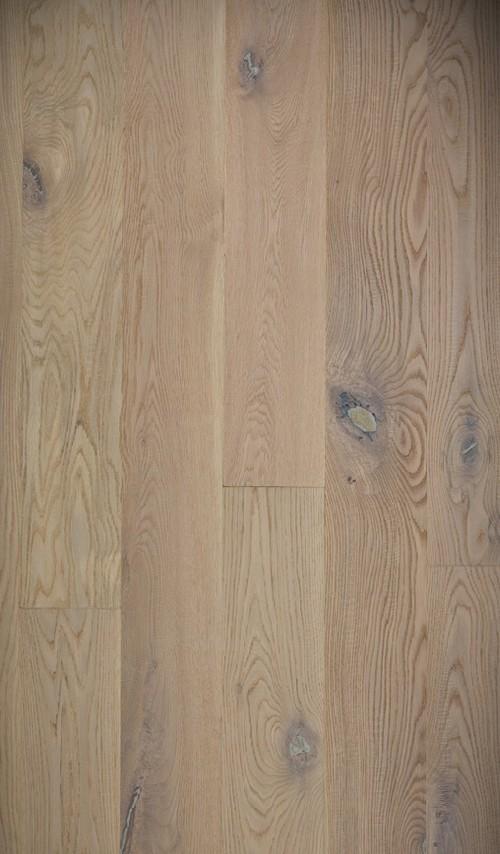 Lots fin de série parquet - Chêne massif antique huilé blanc ellsworth 145x18mm effet brut de sciage lot fin de serie 13.78m²