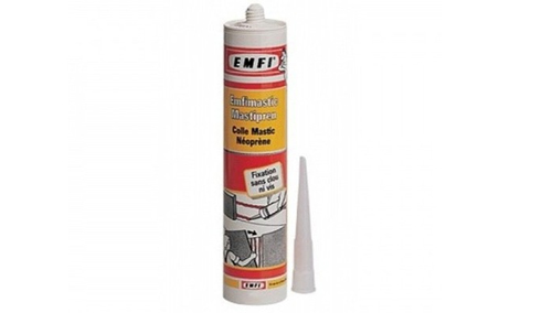 Colle parquet ou carrelage - Colle neoprene emfi cartouche 310ml sans toluene