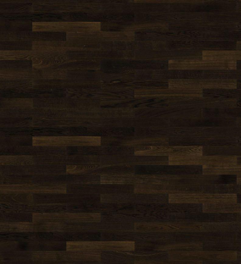 Parquet flottant chêne verni - Baton rompu chene contrecolle decoart fonce verni 70x10 l490<br /> (compatible avec sol rafraîchissant) - certifié pefc 70%
