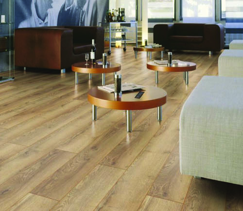Parquet stratifié décoart new-york plus - Chene stratifie decoart montagne nature - gamme new york plus- 1845mmx244mmx10mm - certifié fsc mix credit