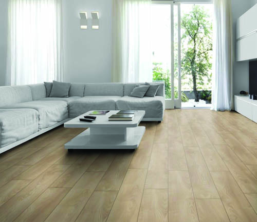 CHENE STRATIFIE DECOART MAKRO CLAIR - GAMME NEW YORK PLUS- 1845mmX244mmX10mm - Certifié FSC Mix Credit