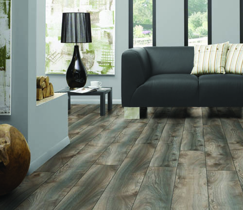 Parquet stratifié décoart new-york plus - Chene stratifie decoart makro gris - gamme new york plus- 1845mmx244mmx10mm - certifié fsc mix credit