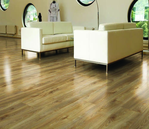 Parquet stratifié décoart new-york plus - Chene stratifie decoart makro nature - gamme new york plus- 1845mmx244mmx10mm - certifié fsc mix credit