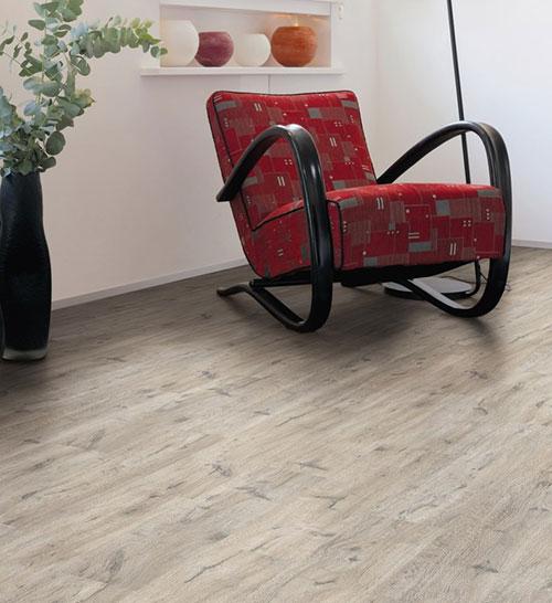Parquet stratifié décor bois - Sol stratifie decoart chene dover planche l - asbana