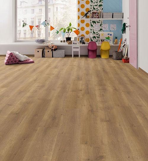 Parquet stratifié décor bois - Sol stratifie decoart chene moderna planche l - asbana