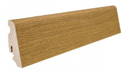 Plinthe de haute qualite - Plinthe bois massif plaque chene alabama huilé naturalin 58x19x2200mm a enclipser