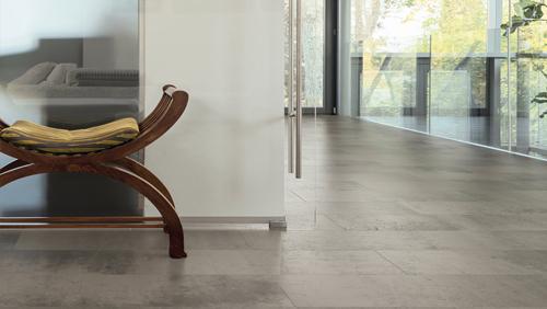 Carreaux celenio - Sol celenio athos concrete grey pierre naturelle multicolore