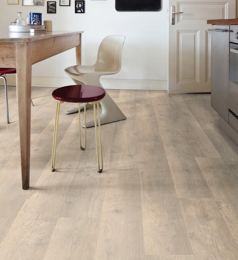 Tritty 90 sols stratifiés, robuste et beau - Chene bergamo blanc antique planche large authentic soft tt90 - 5g
