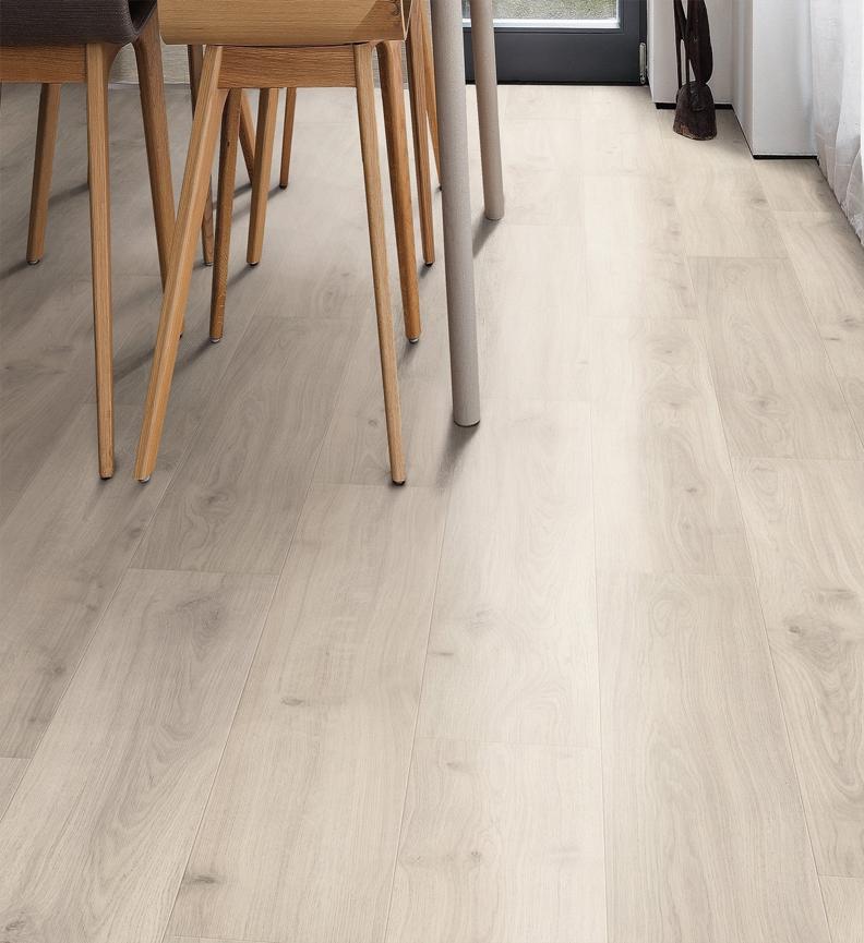 Tritty 90 sols stratifiés, robuste et beau - Chene emilia gris clair planche large authentic soft tt90 - 5g