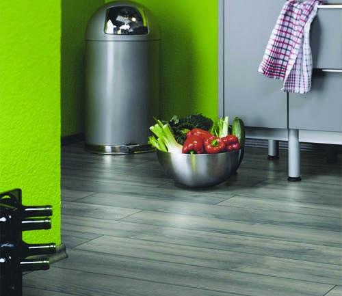 Krono exquisit - Chene stratifie petterson gris 1 frise - gamme exquisit- 1380mmx193mmx8mm - certifié fsc mix credit