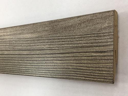 Plinthe de haute qualite - Plinthe mdf branche de pin (mv811) 58x19x2400
