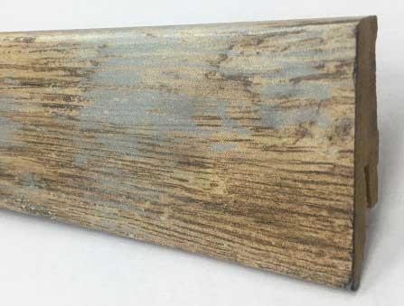 Plinthe de haute qualite - Plinthe mdf chene geo 58x19x2400