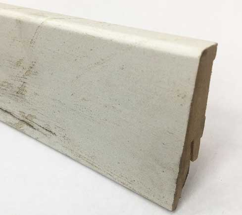 Plinthe de haute qualite - Plinthe mdf brave (m1014) 58x19x2400