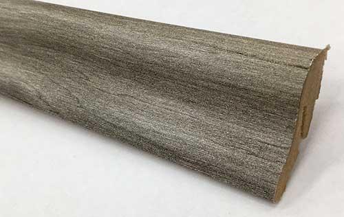 Plinthe de haute qualite - Plinthe mdf gala gris 40x22x2400