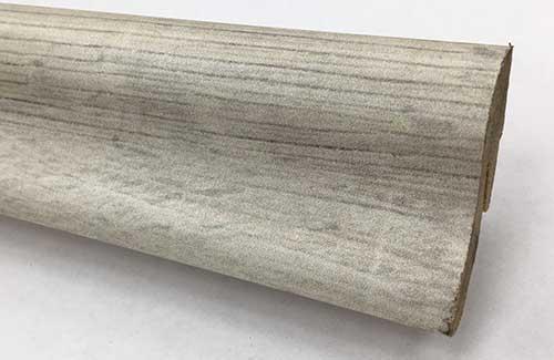 Plinthe de haute qualite - Plinthe mdf gala blanc 40x22x2400