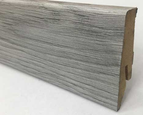 Plinthe de haute qualite - Plinthe mdf makro blanc(1009) 58x19x2400