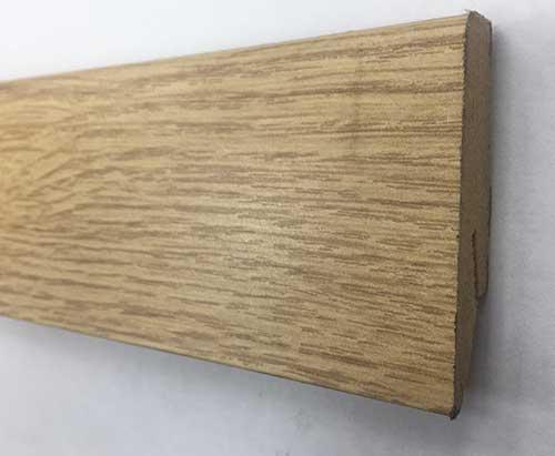 Plinthe de haute qualite - Plinthe mdf chene 58x19x2400