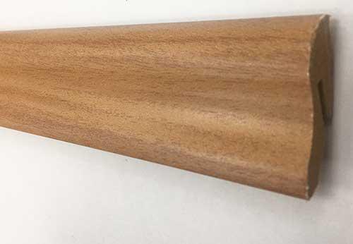 Plinthe de haute qualite - Plinthe mdf noyer de campagne 40x22x2400