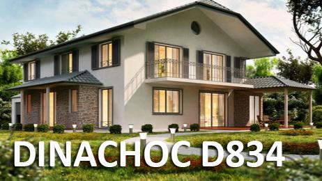 Chape sèche pour rénovation isolante - DINACHOC D834 - ISOLATION Acoustique et Thermique PRODUIT 100% RECYCLE 34dB