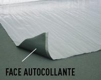 Sous-couches isolation phonique thermique - Sous couche dinachoc s804 alu isolante anti humidite (en rouleau entier)