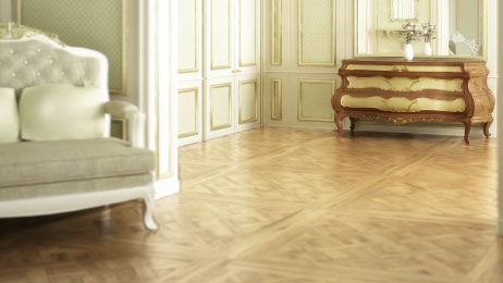 Dalles parquet versailles - Chêne contrecollé versaille verni mat pr 800x800x16mm x4.5mm