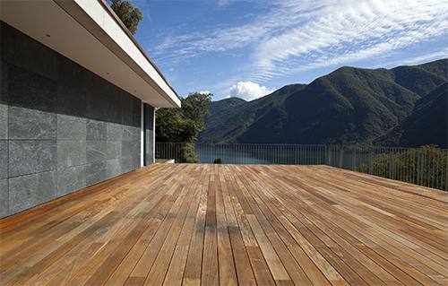 Lames de terrasse bois massif - Lame de terrasse ipe brut deck 2 faces lisses 140*19*500 a 2150