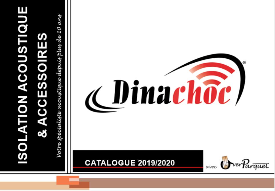 Catalogue pro Dinachoc isolation et sous couche sous parquet