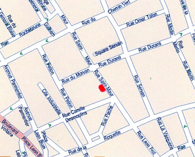 Acces premibel parquet au 78 boulevard voltaire paris 11e for Comboulevard de creteil saint maur